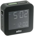 BRAUNブラウン置き時計デジタルクロックBNC008BK【あす楽対応】