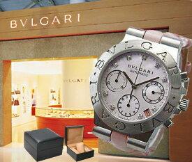 BVLGARI ブルガリ 腕時計 ディアゴノ スポーツクロノ CH35C2SLD/9 ピンク レディース【並行輸入品】