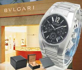 BVLGARI ブルガリ 腕時計 エルゴン クロノグラフ EG35BSSDCH ブラック ボーイズ【並行輸入品】