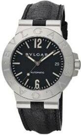 [ブルガリ]BVLGARI 腕時計 DIAGONO ディアゴノ ブラック LCV38BSLD メンズ 腕時計