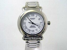 HERMES エルメス 腕時計 ケプラー SS ブレス ホワイト メンズ -新品