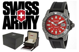VICTORINOXビクトリノックスSWISSARMY腕時計241427レッド×ブラックメンズ【smtb-k】【w3】【楽ギフ_包装】