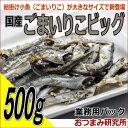 国産ごまいりこビッグ 500g お徳用パック 【2535】
