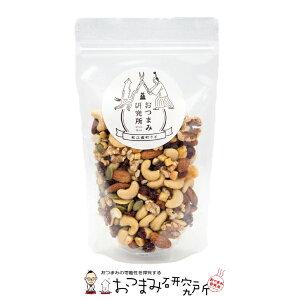 6種のドライフルーツ&ナッツ 140g スタンドパック LB おつまみ研究所【10034】