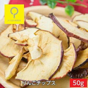 りんごチップス 50g スタンドパック 国産 おつまみ研究所【317】