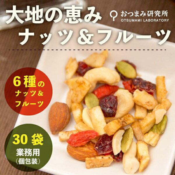 業務用 大地の恵みナッツ&フルーツ(個包装) 30個入