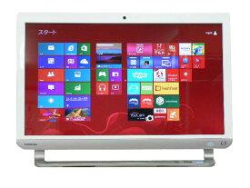 液晶一体型 Windows8 デスクトップパソコン 中古パソコン 東芝 Core i7 ブルーレイ 地デジ/BS/CS 8GB/2TB 送料無料 【中古】