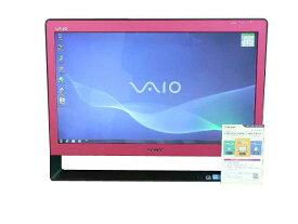 SONY デスクトップパソコン 中古パソコン VPCJ118FJ ピンク デスクトップ 一体型 本体 Windows7 Core i5 ブルーレイ 地デジ/BS/CS 4GB/1TB 送料無料 【中古】
