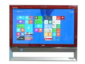 液晶一体型 Windows8.1 デスクトップパソコン 中古パソコン NEC Celeron DVD 地デジ/BS/CS 4GB/1TB 送料無料 【中古】