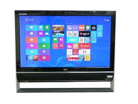 NEC デスクトップパソコン 中古パソコン VN370/J ブラック デスクトップ 一体型 本体 Windows8 Celeron DVD 地デジ/BS/CS 4GB/1TB 送料無料 【中古】