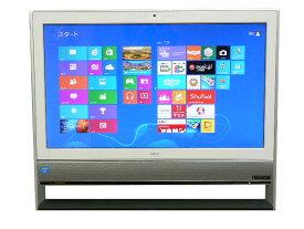 液晶一体型 Windows8 デスクトップパソコン 中古パソコン NEC Celeron DVD 地デジ/BS/CS 4GB/1TB 送料無料 【中古】
