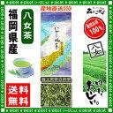 【送料無料】 極上煎茶 白折茶 (茎茶)(100g) 福岡県 ≪八女茶≫ 緑茶 森のこかげ 健やかハウス