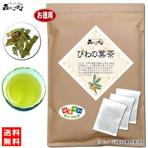7【お徳用TB送料無料】 びわ茶 (3g×90p) ティーパック (枇杷茶) びわの葉 びわ葉 ビワの葉 ビワ葉 びわちゃ 健康茶 ティーバッグ 森のこかげ 健やかハウス