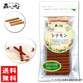 【送料無料】 シナモン (スティック)(100g) お菓子の甘い風味でコーヒーにも良く合う 森のこかげ 健やかハウス