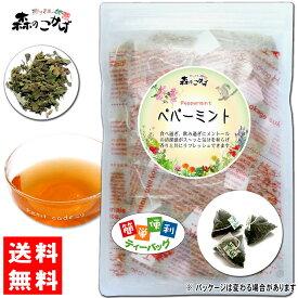 【送料無料】 ペパーミントティー [1.5g×30p 内容量変更] オーガニック原料使用 「ティーバッグ」 日本人の好みに合う 森のこかげ 健やかハウス