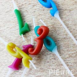 【オプション】ナンバーキャンドル【誕生日御祝お祝プレゼントサプライズ池ノ上ピエール】