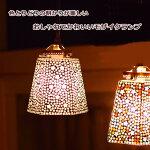 ライト照明ランプペンダントライトモザイクステンドグラス間接照明インテリアかわいいおしゃれハンキング飾りアンティーク雑貨シーリングライト天井照明アジアン【モザイクハンキングランプ六角】【送料無料】【あす楽対応】