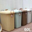 【即出荷】 ゴミ箱 ごみ箱 ふた付き PALE×PAIL ふた付きゴミ箱 60L IWLY4010BG スパイス SPICE おしゃれ 分別用 屋外…