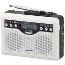 AudioComm デジタル録音ラジオカセット|CAS-381Z 07-9886 オーム電機
