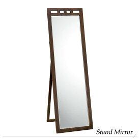 『 姿見』ミラー 鏡 かがみ スタンドミラー 姿見全身鏡 全身ミラー 木製フレーム フレーム付 木製 木目 ナチュラル おしゃれ シンプル カントリー 北欧 スタンド 玄関 ホール 寝室 一人暮らし