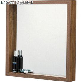 壁掛け鏡 鏡 壁掛鏡 壁掛けミラー 壁掛ミラー ウォールミラー 玄関ミラー 玄関鏡 ボックス 四角 正方形 スクエア ブラウン 茶色 ナチュラル ウォールナット ホワイト 白 リビング 玄関 洗面所 おしゃれ シンプル ディスプレイ 飛散防止 木目調 スクエアミラー