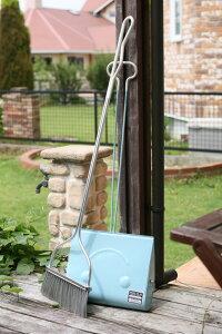 DULTON ダルトン 『スマイリーセット ロングハンドル Smilly set long handle』 ほうき ホウキ ちりとり チリトリ 塵取り ブラシ おしゃれ オシャレ かわいい 可愛い レトロ 長柄 ロング 長い セット