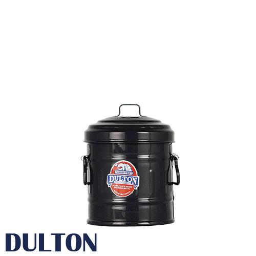 DULTON ダルトン 『マイクロ缶 Micro garbage can』 小物入れ 小物収納 鉛筆立て 缶 カン ペンたて ペン立て 文房具入れ おしゃれ オシャレ かわいい 可愛い レトロ アンティーク調 ふた付き 金属 蓋付き フタ付き 持ち手付き ミニ 小型 カラー