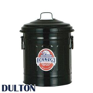 DULTON ダルトン 『ベビー缶 Baby garbage can』 小物入れ 小物収納 鉛筆立て 缶 カン ペンたて ペン立て 文房具入れ おしゃれ オシャレ かわいい 可愛い レトロ アンティーク調 ふた付き 金属 蓋付