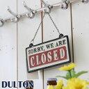 DULTON ダルトン 『リバーシブルサイン OPEN-CLOSED』 S455-174OC サインボード サインプレート ドアプレート ドアサイン 案内板 表...