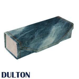DULTON ダルトン 『デニムグラスケース』 A325-118 メガネケース 眼鏡ケース めがねケース メガネ入れ 眼鏡入れ めがね入れ ケース 眼鏡 めがね サングラス 老眼鏡 メンズ レディース 長方形 箱