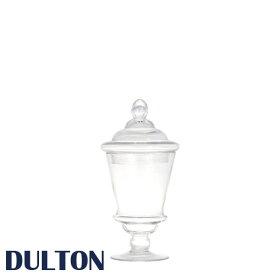 DULTON ダルトン 『ガラスジャー コルネット S』 保存容器 保存瓶 ガラス容器 調味料入れ グラスジャー キャニスター ガラス瓶 アンティーク レトロ おしゃれ シック 可愛い カワイイ キッチン 台所 ジャー 広口瓶 入れ物 フタ
