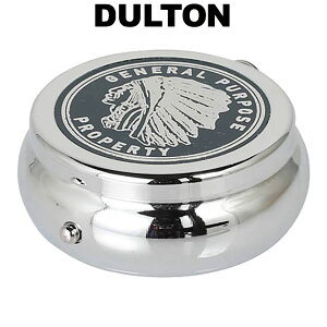 DULTON ダルトン ポータブル アシュトレイ インディアン 携帯灰皿 アッシュトレイ アッシュトレー 灰皿 アイアン 携帯用 持ち歩き 外出用 おしゃれ アメリカン レトロ 小さい 小型 ミニ プレゼ
