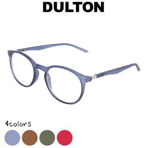 DULTON ダルトン リーディンググラス シニアグラス 眼鏡 めがね メガネ 老眼鏡 グリーン ブルー レッド 縁あり フチあり 度入り 度付き フレーム ノーマル型 お洒落 おしゃれ オシャレ シンプ