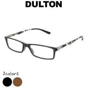 DULTON ダルトン リーディンググラス シニアグラス 眼鏡 めがね メガネ 老眼鏡 ブラウン ブラック 縁あり フチあり 度入り 度付き フレーム ノーマル型 お洒落 おしゃれ オシャレ シンプル ギ