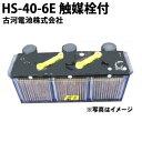 【受注生産品】 古河電池 『 古河電池 HSー40ー6E 媒栓付 据置鉛蓄電池HS形 6V 40Ah』 バッテリー おすすめ 蓄電池 イ…