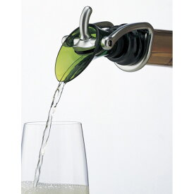 ワイン 『カラーシャンパンストッパー&ポアラー』 シャンパンポワラー シャンパンストッパー シャンパンキーパー ワイン 栓 ボトルストッパー 液だれ防止 注ぎ口 コルク替り 蓋 ふた フタ ボトル口 ホームパーティー 試飲会 こぼさず
