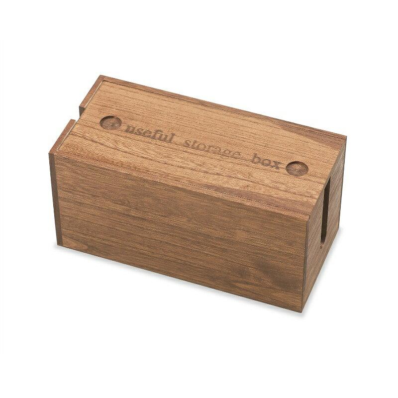 『 ミニ 桐ケーブルボックス ミニサイズ 』 ミニ コードケース 収納 電源ケーブルボックス 木製 電源タップ 電源コード ケーブル収納 電源タップ 掃除 コード隠し LAN HUB ほこり防止 即納