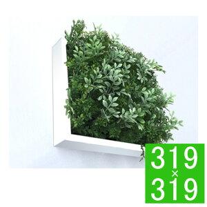 『グリーンフレーム Shibafu 3 ハーブミックス 300WH』 壁飾り フェイクグリーン 人工観葉植物 ウォールデコレーション ウォールアート フレームアート グリーンデコレーション 造花 インテリ