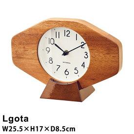 【壁掛け時計】おしゃれ 掛け時計 Lgota [ルゴタ]スイープムーブメント アンティーク 北欧 時計 掛け時計 リビング 子供部屋 子ども部屋 インターフォルム CL-3858