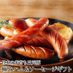 平田牧場 日本の米育ち三元豚 極みハム&ソーセージギフト EXT19-2 [冷蔵便] 敬老の日ギフト/贈り物にもどうぞ