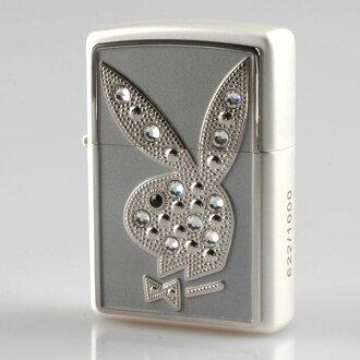 zp21222 Playboy Japan-limited product Swarovski crystal Silver Plate side serial number