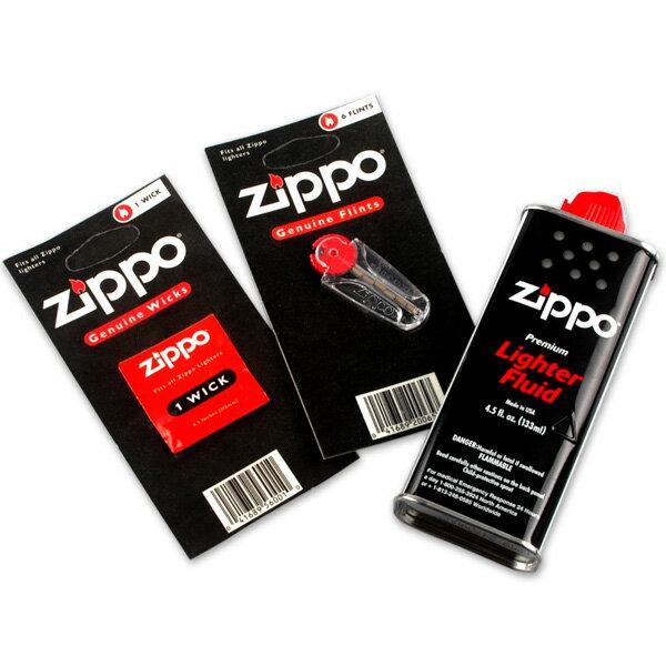 ZIPPOオプションセット(ZIPPOオイル、ZIPPOフリント、ZIPPOウィック) zippo-optionset【新品・正規品・送料無料】新生活 ギフト 【】