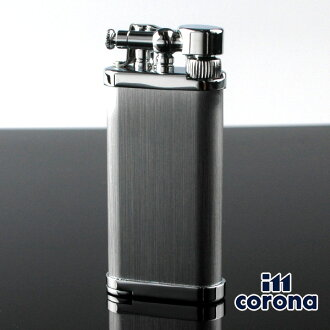 Gas cigarette lighter brand writer gift for イムコロナオールドボーイ 64-3115 CN64-3115CR HAIRLINE [im corona] イムコロナパイプ