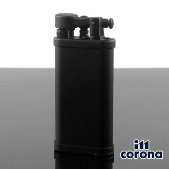 Gas cigarette lighter brand writer gift for イムコロナオールドボーイ 64-9111 64-9111BLACK MATT [im corona] イムコロナパイプ