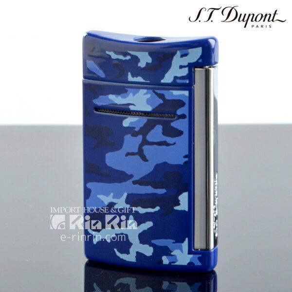 デュポン 10088 ミニ・ジェット(X・tend mini) Minijet ブルー カモフラージュラッカー クロム デュポンライター (Dupont) ターボライター 【新品・正規品・送料無料】新生活 ギフト 【】