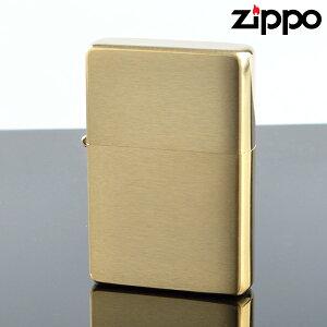 Zippo ジッポライター zp240cc スタンダードフラットトップビンテージ ブラスサテーナ オイルライター 【新品・正規品・送料無料】 ギフト 【】