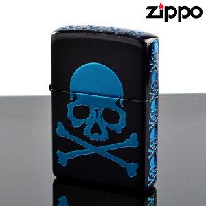 zippo ライター ジッポライター zp252014 Skull V スカルBL 5面エッチング加工 マットブラック【新品・正規品・送料無料】 ギフト 【】