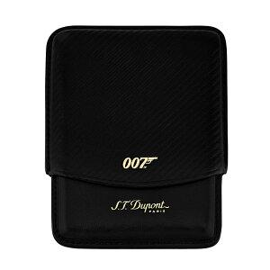 デュポンライター ジェームズ・ボンド 007 シガレットケース ブラック【新品・正規品・送料無料】 ギフト 【】