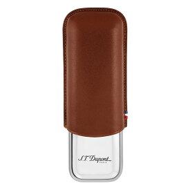 デュポン シガーケース2本 ブラウン 183011【新品・正規品・送料無料】 ギフト 【】