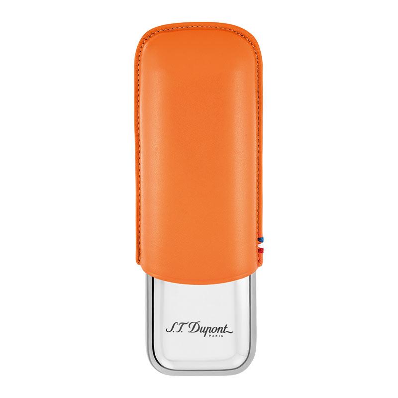 デュポン シガーケース2本 オレンジ 183012【新品・正規品・送料無料】新生活 ギフト 【】